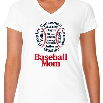 Baseball Mom Shirt | Our T Shirt Shack