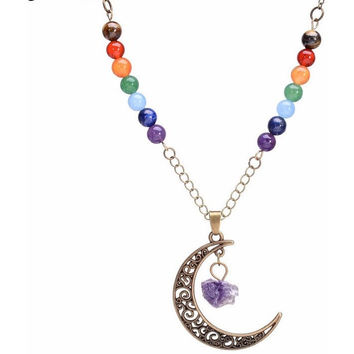 Life Chakra Sailor Moon Necklace