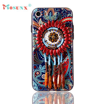Ecosin2 Mosunx 2017 Exotic Fashion Boutique Beads Phone Case Cover For iPhone 7 4.7 inch 17Mar14