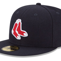 Boston Red Sox MLB Logo Lush 59FIFTY Cap
