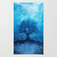 Songs from the sea. Area & Throw Rug by Viviana Gonzalez | Society6