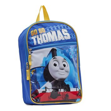 """Licensed Thomas the Train 14"""" Backpack With Light up feature. One Size"""