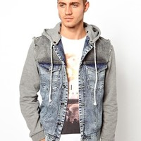 River Island Jacket with Hood at asos.com