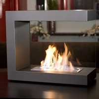 brasa ventless fireplace modern bio-ethanol inside