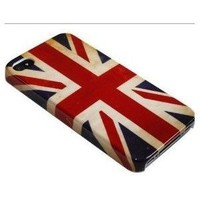 Amazon.com: Retro Unique Slim UK National Flag Hard Back Case Cover For iPhone 4 4G 4s at&t verizon/BONA retail packing: Cell Phones & Accessories