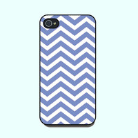 Iphone 4 Case --blue Chevron Patter.. on Luulla