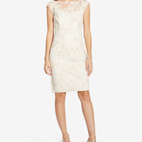 Lauren Ralph Lauren Embroidered Floral-Print Dress - Dresses - Women - Macy's