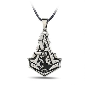 Assassin's Creed Stainless Steel Men Necklaces