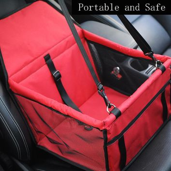 Portable and Safe Car Seat Pet Small Dog Bag Carrier Mat Waterproof Breathable Bag for Small Dogs