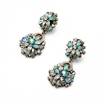 Daisy Jewelry Vintage Multi-bead Fashion Earrings