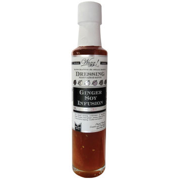 Wozz Vermont Ginger Soy Infusion Dressing & Dipping Sauce - Sweet Savory & Light