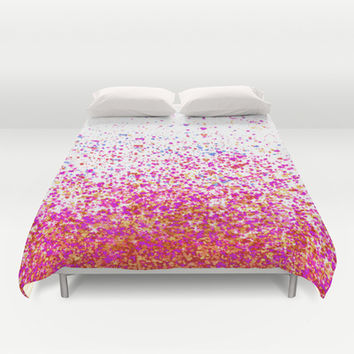 sparkles Duvet Cover by Marianna Tankelevich | Society6