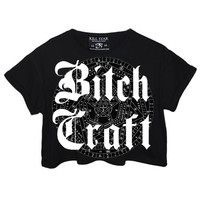 Bitch Craft Crop Top [B]