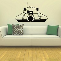 Wall Decal Vinyl Sticker Tank Weaponry Military Decor Sb446