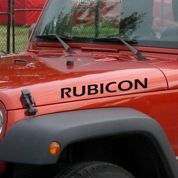Jeep Rubicon Decals