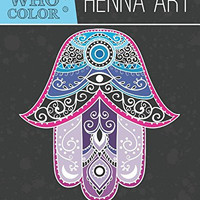 Henna Yoga Mandala Zen Adult Coloring Book