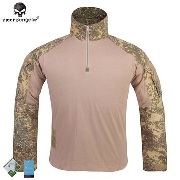 Emersongear G3 Combat T-shirt Military BDU Army Airsoft Tactical Gear Paintball Hunting Shirt EM9245 Badlands  Emerson