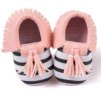 Baby girl Tassels Bowknot Shoes