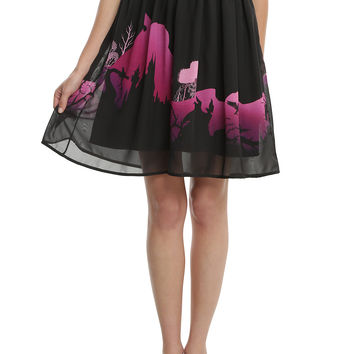 Disney Sleeping Beauty Chiffon Circle Skirt