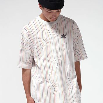 adidas Warped Stripes T-Shirt | PacSun