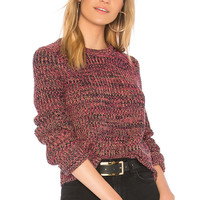 525 america Crew Neck Sweater in Dragon Fruit Combo