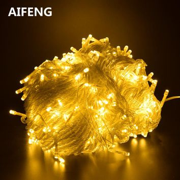 AIFENG Outdoor  led string lights decorative fairy light holiday lights lighting tree garland