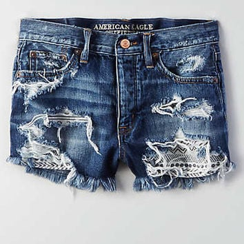 AEO Vintage Hi-Rise Festival, Medium Repair Crackle