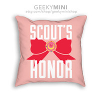 Scout's Honor - 18x18 inch Sailor Moon Pillows