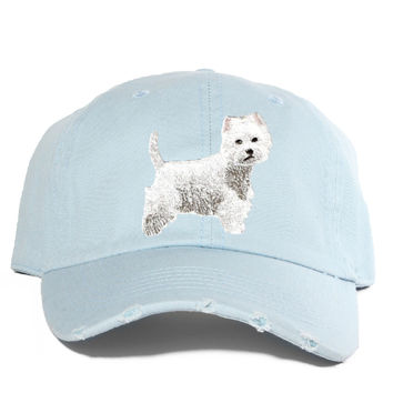 Westie Destroyed Cap