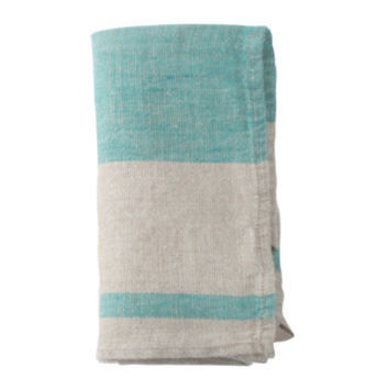 French Linen Napkin in Blue