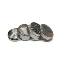 Precision Metal Grinder by Chromium Crusher - Four Pieces - Assorted Sizes