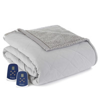 Micro Flannel® Reverse to Sherpa Electric Heated Blanket