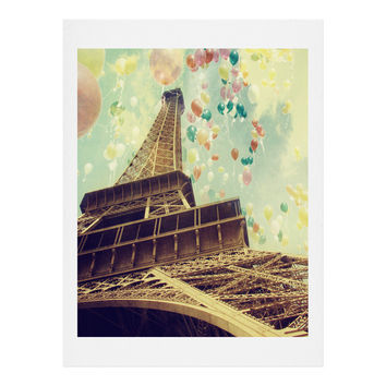 Chelsea Victoria Paris Is Flying Art Print