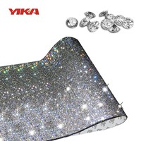 YIKA 2017 DIY Vogue Shining Crystal Diamond Car Stickers Rhinestone Automobiles Interior Decoration for Car Styling