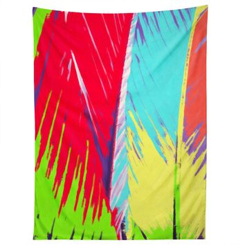 Rosie Brown Rainbow Palms Tapestry