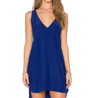 Amanda Uprichard Vita Dress in Sapphire