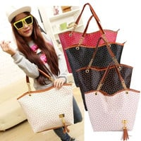 Hot Fashion Handbag Shoulder Bag Tote Purse New PU Leather Women Messenger  D_L = 1713192324