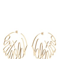 Valentino | Logo hoop earrings | Women | Lane Crawford - Shop Designer Brands Online