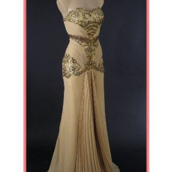 Old Hollywood Glamour Gold Vintage from Blue Velvet Vintage