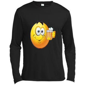 Drunk Emoji T-Shirt Party Beer Emoticon Mug Smiley Face