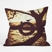 Shannon Clark Love At First Swing Throw Pillow