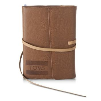 "TOMS for Target Faux Leather Journal and pen with Magnetic Closure 5.5""x8"""
