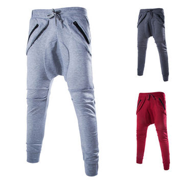 Men's Casual Harem Style Sweat Pants