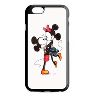 Mickey And Minnie Mouse Kissing For iphone 6 case