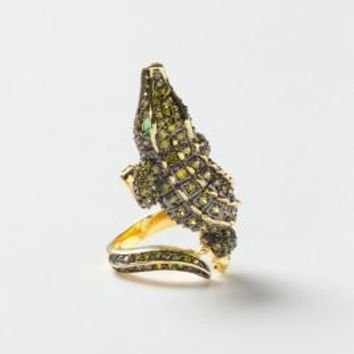 Curled Alligator Ring - Anthropologie.com