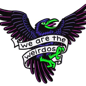 We Are The Weirdos Large Back Patch