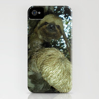 The sloth iPhone Case by Nicklas Gustafsson | Society6
