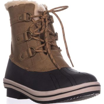 Pawz by Bearpaw Gina Cold-Weather Duck Boots, Hickory, 5 US / 36 EU