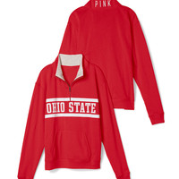 Ohio State University Boyfriend Half Zip