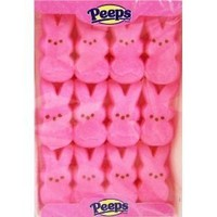 Marshmallow Peeps Pink Easter Bunnies 2 Pack